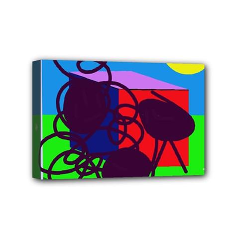 Sunny day Mini Canvas 6  x 4
