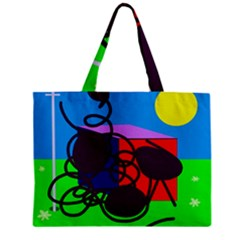 Sunny day Zipper Mini Tote Bag