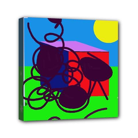 Sunny day Mini Canvas 6  x 6