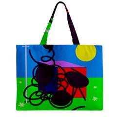 Sunny day Zipper Mini Tote Bag