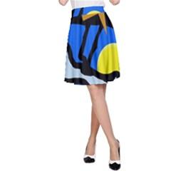Little bird A-Line Skirt