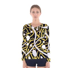 Yellow movement Women s Long Sleeve Tee