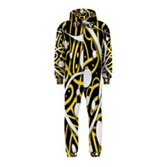 Yellow movement Hooded Jumpsuit (Kids)