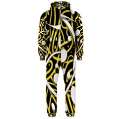 Yellow movement Hooded Jumpsuit (Men)
