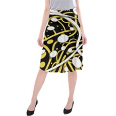 Yellow movement Midi Beach Skirt
