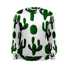 Cactuses pattern Women s Sweatshirt