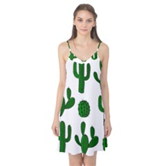 Cactuses pattern Camis Nightgown