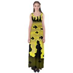 Khazar s dream  Empire Waist Maxi Dress