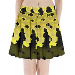 Khazar s dream  Pleated Mini Skirt