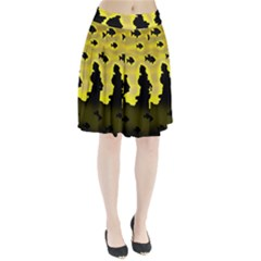 Khazar s Dream  Pleated Skirt