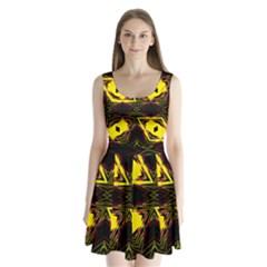 Gtgtj67uj Split Back Mini Dress