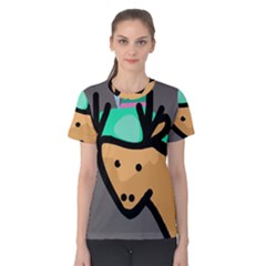 Deer Women s Cotton Tee