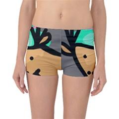 Deer Boyleg Bikini Bottoms