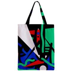 Find me Zipper Classic Tote Bag