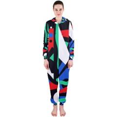 Find me Hooded Jumpsuit (Ladies)