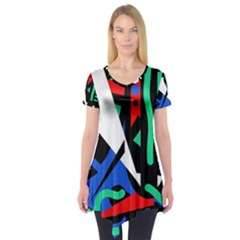 Find Me Short Sleeve Tunic