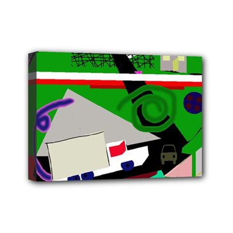Trip Mini Canvas 7  x 5
