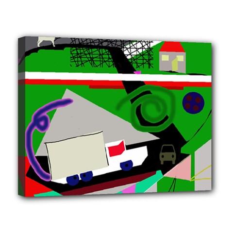 Trip Canvas 14  x 11