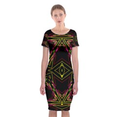 Gtgtj67ujirrfgerge Classic Short Sleeve Midi Dress