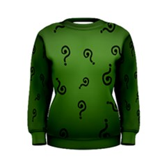 riddler Women s Sweatshirt