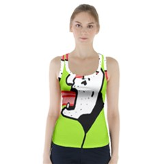 Protrusion  Racer Back Sports Top