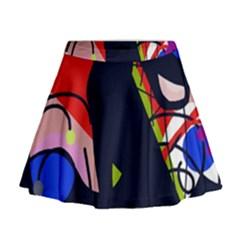 Gift Mini Flare Skirt