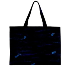 Blue moonlight Zipper Mini Tote Bag