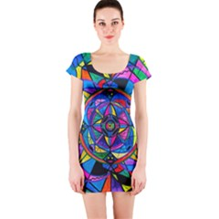 Activating Potential   Short Sleeve Bodycon Dress