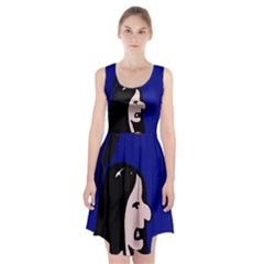 Girl And Bird Racerback Midi Dress