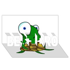Turtle BEST BRO 3D Greeting Card (8x4)