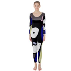 Monster Long Sleeve Catsuit