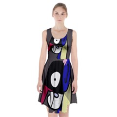 Monster Racerback Midi Dress