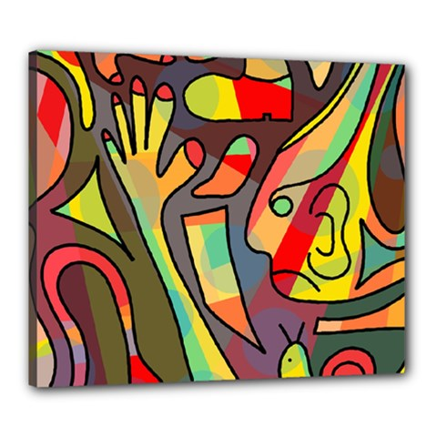 Colorful dream Canvas 24  x 20