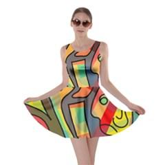 Colorful dream Skater Dress