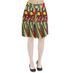 Colorful Dream Pleated Skirt