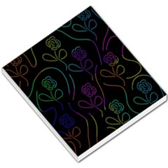 Flowers - pattern Small Memo Pads