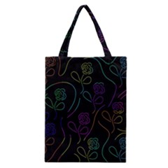 Flowers - pattern Classic Tote Bag