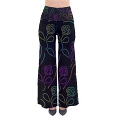 Flowers - pattern Pants