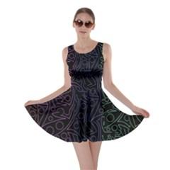 Colorful elegant pattern Skater Dress