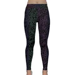 Colorful elegant pattern Yoga Leggings