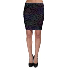 Colorful pattern Bodycon Skirt