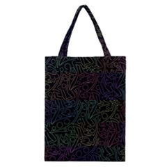 Colorful pattern Classic Tote Bag