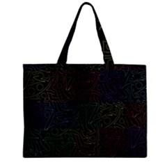 Colorful pattern Zipper Mini Tote Bag