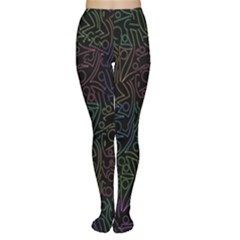 Colorful pattern Women s Tights