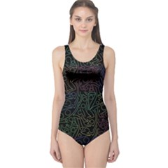 Colorful pattern One Piece Swimsuit