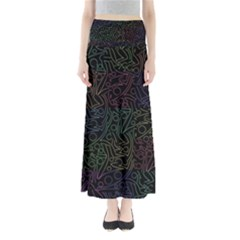 Colorful pattern Maxi Skirts