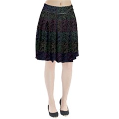 Colorful pattern Pleated Skirt