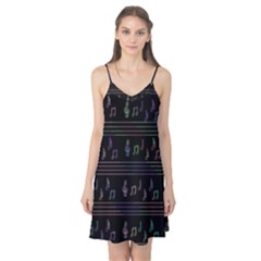 Music pattern Camis Nightgown