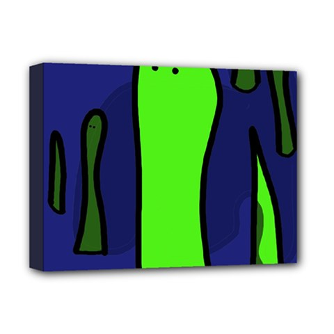 Green snakes Deluxe Canvas 16  x 12