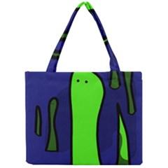 Green snakes Mini Tote Bag